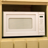 Microwave Oven in the Kitchen