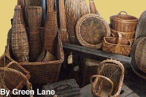 Sample of different kinds of baskets
